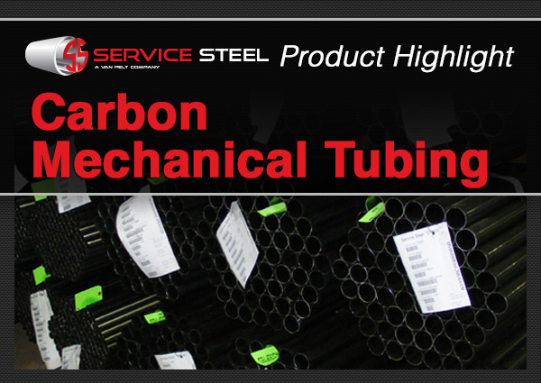 Featured Product: Carbon Mechanical Tubing
