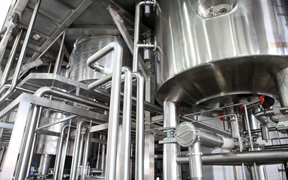 stainless steel tube in use
