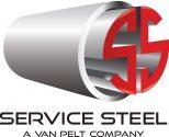 Service Steel Logo Art